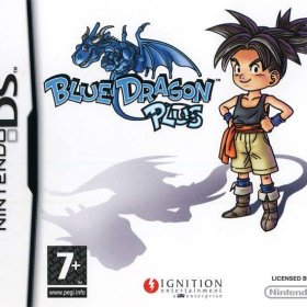 The cover art of the game Blue Dragon Plus.