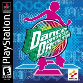 The cover art of the game Dance Dance Revolution.