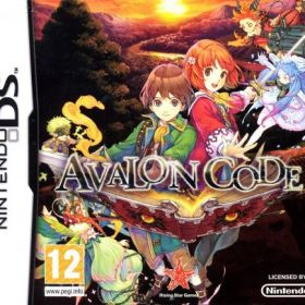 The cover art of the game Avalon Code.