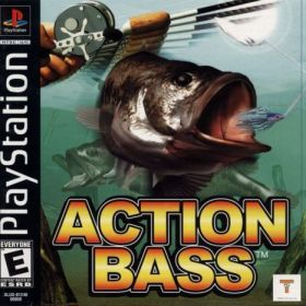 The cover art of the game Action Bass.