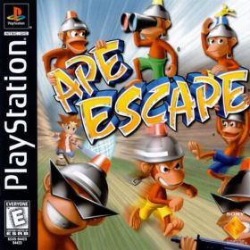 The coverart thumbnail of Ape Escape