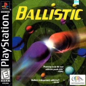 The cover art of the game Ballistic.