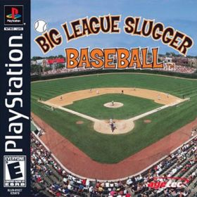 The cover art of the game Big League Sluggers Baseball.