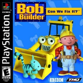 The cover art of the game Bob the Builder: Can we fix it?.