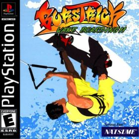 The cover art of the game BursTrick Wake Boarding!!.