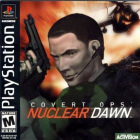 The cover art of the game Covert Ops: Nuclear Dawn.