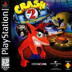 The coverart thumbnail of Crash Bandicoot 2: Cortex Strikes Back