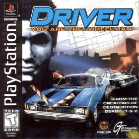 The cover art of the game Driver: You Are the Wheelman.