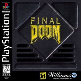 The cover art of the game Final Doom.