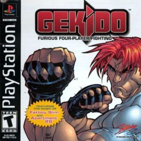 The cover art of the game Gekido: Urban fighters.