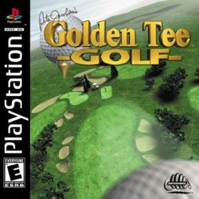 The cover art of the game Peter Jacobsen's Golden Tee Golf.