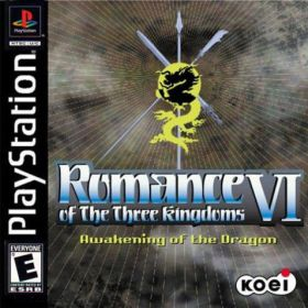 The cover art of the game Romance of the Three Kingdoms VI: Awakening of the Dragon.