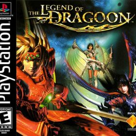 The cover art of the game The Legend of Dragoon.
