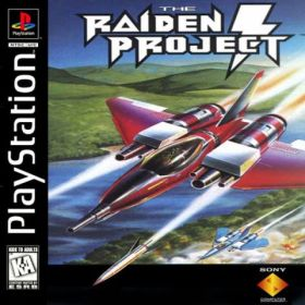 The cover art of the game The Raiden Project.