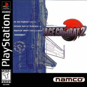 The cover art of the game Ace Combat 2.