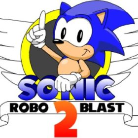 The cover art of the game Sonic Robo Blast 2 (Fangame).