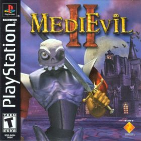 The cover art of the game Medievil II.