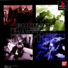 The cover art of the game Gundam: The Battle Master.