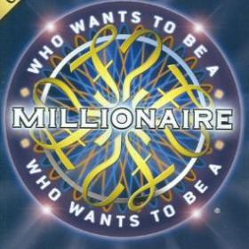 The cover art of the game Who Wants to Be a Millionaire: Party Edition.