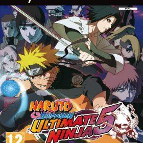 The cover art of the game Naruto Shippuden: Ultimate Ninja 5.
