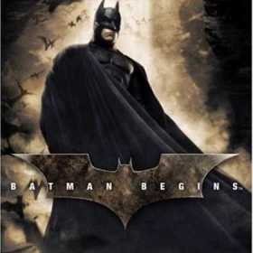The cover art of the game Batman Begins.