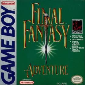 The cover art of the game Final Fantasy Adventure.