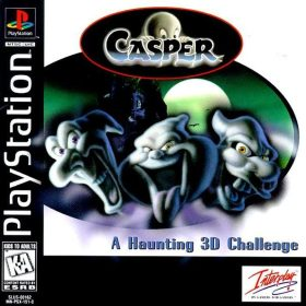 The cover art of the game Casper.