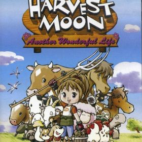 The cover art of the game Harvest Moon: Another Wonderful Life.