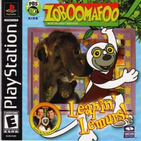 The cover art of the game Zoboomafoo: Leapin' Lemurs!.