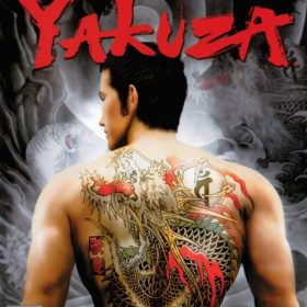 The cover art of the game Yakuza.