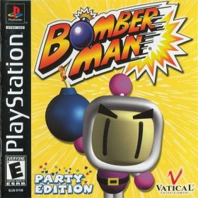 The cover art of the game Bomberman Party Edition.
