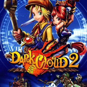 The cover art of the game Dark Cloud 2.