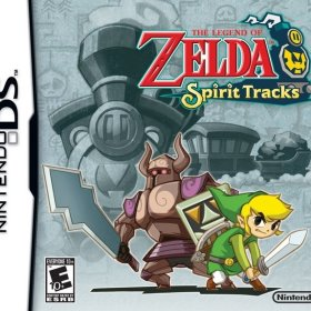 The cover art of the game The Legend of Zelda: Spirit Tracks (D-Pad Patched).