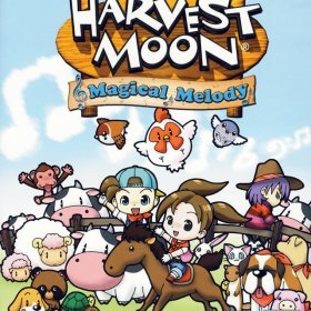 The cover art of the game Harvest Moon: Magical Melody.