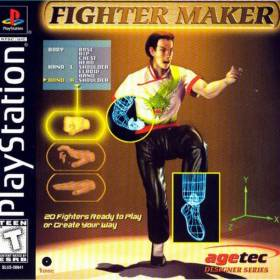The cover art of the game Fighter Maker.