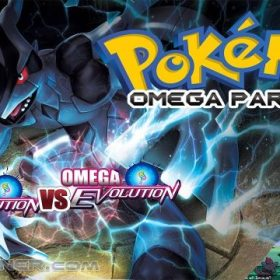 The cover art of the game Pokemon Omega Paradox (Hack).
