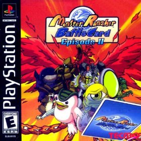 The cover art of the game Monster Rancher Battle Card - Episode II.