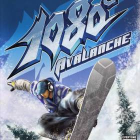 The cover art of the game 1080° Avalanche.
