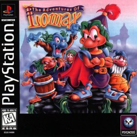The cover art of the game The Adventures of Lomax.