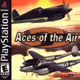 The cover art of the game Aces of the Air.