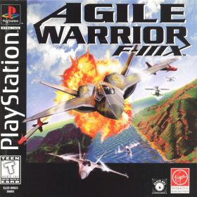 The cover art of the game Agile Warrior F-111X.