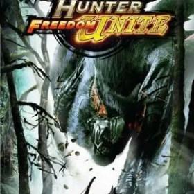 The cover art of the game Monster Hunter Freedom Unite.