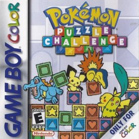 The cover art of the game Pokemon Puzzle Challenge.