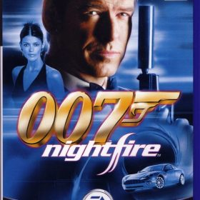 The cover art of the game 007: NightFire.