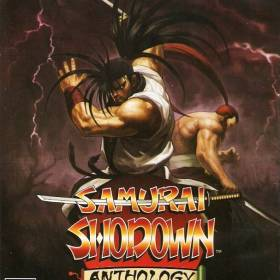 The cover art of the game Samurai Shodown Anthology.