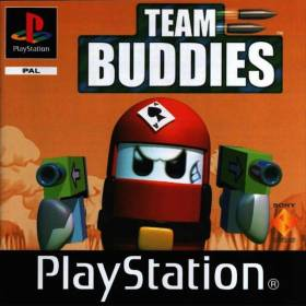 The cover art of the game Team Buddies.