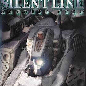 The cover art of the game Silent Line: Armored Core.