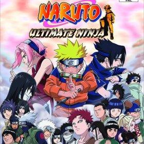 The cover art of the game Naruto: Ultimate Ninja.