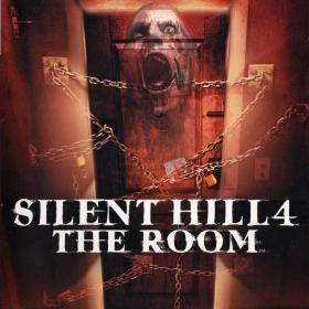 The cover art of the game Silent Hill 4: The Room.
