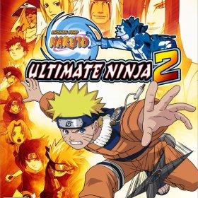 The cover art of the game Naruto: Ultimate Ninja 2.